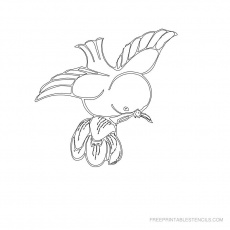 Free Printable Bird Stencil Pictures | Free Printable Stencils