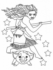 59 Moana Coloring Pages (November 2020 ...picturethemagic.com