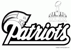 12 Pics Of NFL Patriots Coloring Pages
