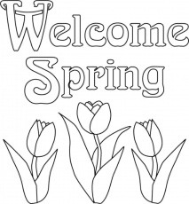 spring coloring pages | Only Coloring Pages