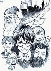 Harry Potter DVD Cover - Philosopher's Stone by incaseyouart on ...