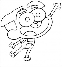 Cricket From Big City Greens Coloring Page Coloring Home