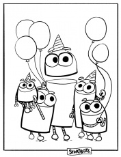 StoryBots Super Songs Coloring Pages - Free Printable Coloring Pages for  Kids