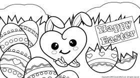 Free Printable Easter Coloring Pages For Kids - Coloring pages