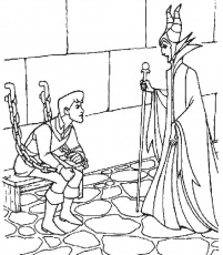 Sleeping Beauty Coloring Pages | ColoringMates.