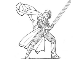 Darth vader coloring pages star wars movie - ColoringStar