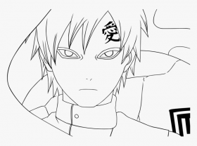 Gaara Colouring Pages, Gaara Coloring Pages - Gaara Coloring Pages ...