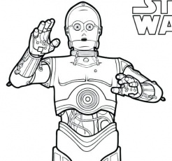 R2d2 And C3po Coloring Pages at GetDrawings.com | Free for ...