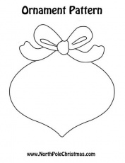 Ornament Template Christmas Printable. of christmas felt ornaments ...