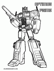 Transformers (Superheroes) – Printable coloring pages