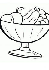 Pin on Foods and Snacks Coloring Pages