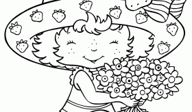Printable Strawberry Shortcake Coloring PagesTaiwanhydrogen.org