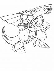 palkia coloring pages