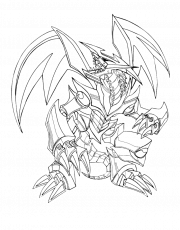 Robots Black Metal Dragon Coloring Pages - Dragon Coloring Pages