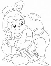 9 Pics Of Lord Krishna Coloring Pages  Krishna Coloring Pages