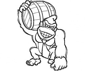 super mario coloring pages printable donkey kong coloring pages