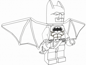 Lego batman coloring pages to download and print for free