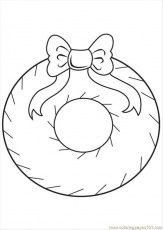 Printable Christmas Decorations Coloring Pages | Cooloring.com
