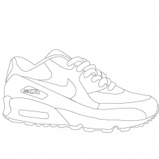Air Jordan Shoes Coloring Sheets | Coloring Pages | Pinterest ...