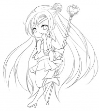 15 Pics of Chibi Fox Coloring Pages - Anime Fox Girl Chibi ...