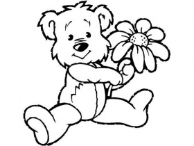 Download Printable Beautiful Teddy Bear Coloring Pages Oloring ...