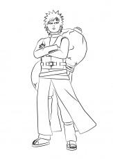 Gaara Of The Sand Coloring Page - Free Printable Coloring Pages ...