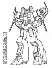 Transformers Coloring Pages Starscreampinterest.ca