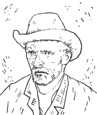 Van Gogh Colouring Pages - Van Gogh Museumvangoghmuseum.nl