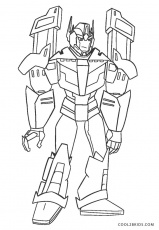 Printable Transformer Coloring Pages ...cool2bkids.com
