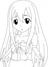 Fairy Tail Lucy Coloring Pages - High Quality Coloring Pages