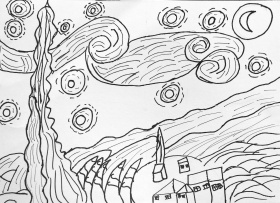 Van Gogh Coloring Pages (16 Pictures) - Colorine.net | 14889