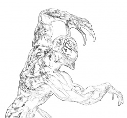 carnage spider man coloring pages - photo#40