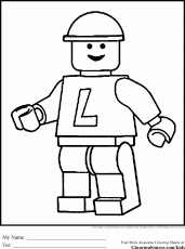 Free Lego Block Coloring Pages, Download Free Clip Art, Free Clip ...