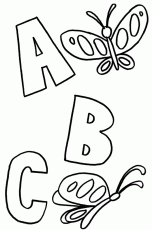 Coloring Pages: Abc Coloring Pages For Kindergarten Printable Kids ...