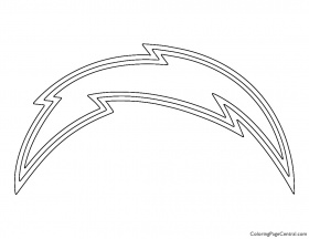 NFL San Diego Chargers Coloring Page | Coloring Page Central
