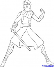 Star Wars Clone Wars Colouring Pages | 99coloring.com