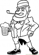 beer coloring pages
