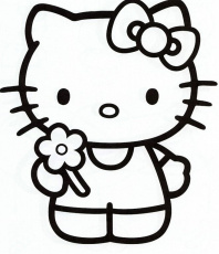 Printable Hello Kitty Coloring Pages | Coloring Pages