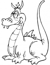 Coloring Pages Dragon 42 | Free Printable Coloring Pages