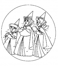 Coloring pages the sleeping beauty - picture 8