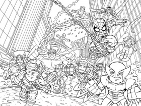 Marvel Coloring Pages - Best Coloring Pages For Kids | Avengers coloring  pages, Detailed coloring pages, Superhero coloring