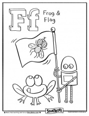 Fly your flag high, and color for