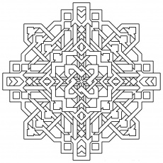 19 Free Pictures for: Free Geometric Coloring Pages. Temoon.us