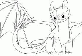 11 Pics Of Toothless Dragon Coloring Pages Printable How To
