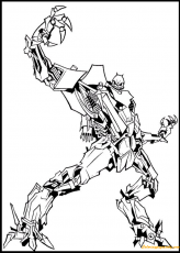 Transformers Movie Starscream Coloring ...coloringpagesonly.com