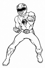 Power Rangers Wild Force Coloring Pages - Free Printable Coloring
