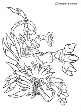 Digimon Coloring Pages Free Printable | Coloring Pages For Kids