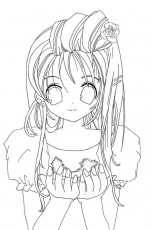 Anime Coloring Pages For Teenagers | download free printable