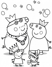 Peppa Pig Coloring Pages To Print | 99coloring.com