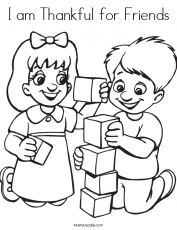 Friendship Coloring Pages | Coloring Pages